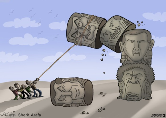 Renversement du Totum Arabe (Sherif Arafa)